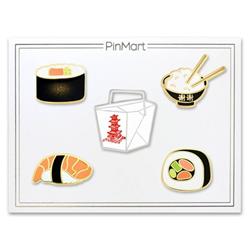 Asian Cuisine 5-Pin Set