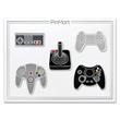 Retro Gamer 5-Pin Set