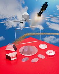 Custom manufactured sapphire optics