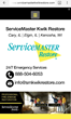 Proceed Innovative Develops New Website for ServiceMaster Kwik Restore to Improve Search Traffic and Online Presence