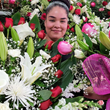 CFM Andrews Wholesale Flowers Gives Single Mom Mother's Day Flower Prize