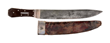 Clip Point Bowie Knife by Samuel Bell, estimated at $60,000-100,000.