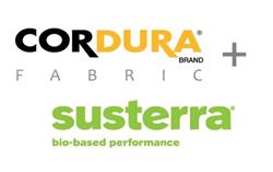 CORDURA Brand and Susterra Logos