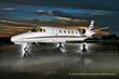 A Cessna Citation Excel, for sale by Ogarajets, listed on www.leaderluxury.com