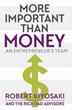 Robert Kiyosaki and Rich Dad Advisors to Release New Book 'More Important Than Money'