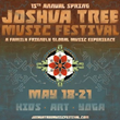 California's 15th Annual Joshua Tree Music Festival Hosts Its Spring Edition On May 18-21
