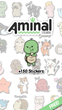 "Latest Version of iMessage Sticker App ""Aminal Stickers"" Features 150 Unforgettable Characters that Make Chats More Fun & Memorable"