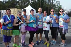 Participants from the Disney Princess Half Marathon Weekend 2017 in Walt Disney World in Orlando, Florida [Photo: Academy Travel]