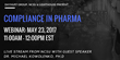 Dayhuff Group, Lighthouse and NCSU Present Compliance in Pharma, a Live Stream Webinar on May 23 with Guest Speaker Dr. Michael Kowolenko, PH.D