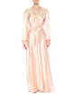Vintage 1930's Pink Silk Negligee-Selling price $950