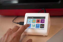 The AstroBox Touch is a simple, intuitive, cloud connected touchscreen for your 3D Printer. Users can even extend its capabilities by installing 3D Printing related apps on it, just like on smartphones.