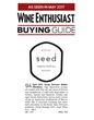 Wine Enthusiast Awards 2015 Seed Malbec 94 points
