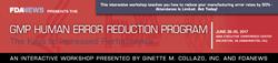 GMP Human Error Reduction