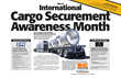 Kinedyne Designates May 2017 as First Annual International Cargo Securement Awareness Month in Preparation for Roadcheck 2017