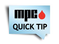 MPC Quick Tips