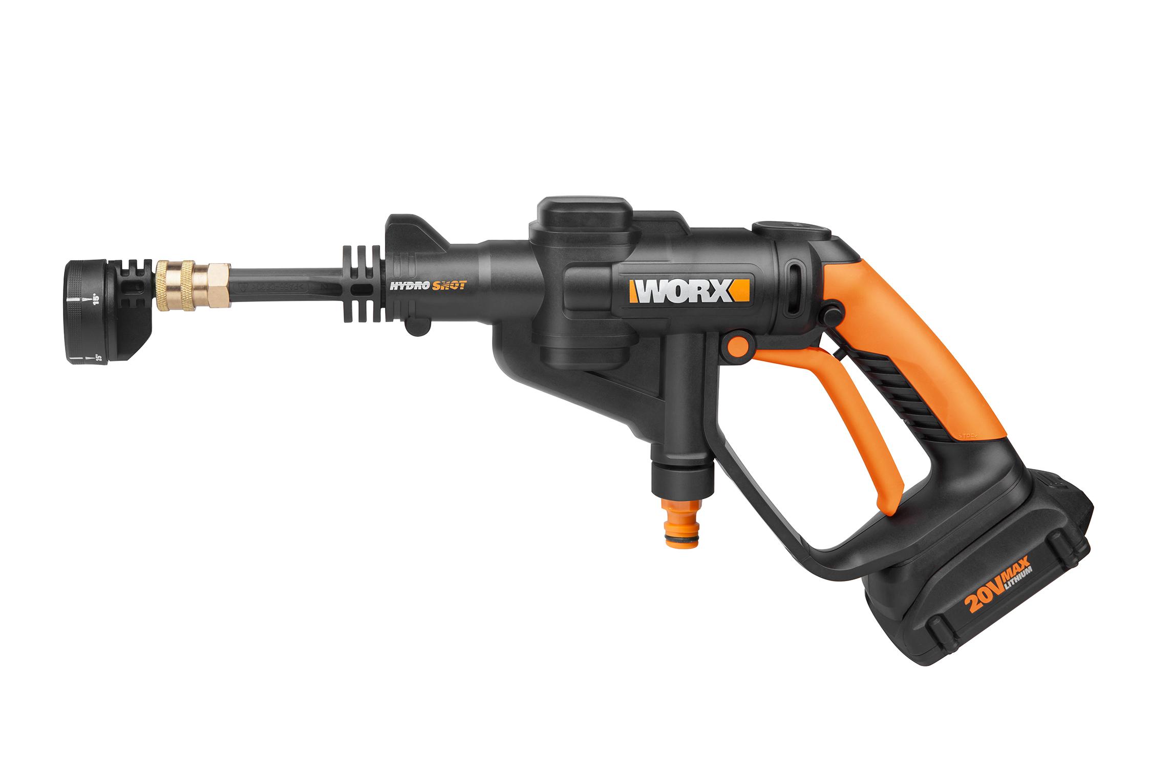 New Worx Hydroshot Cordless Power Cleaner Pumps Fresh