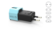 Micro, the World's Smallest Universal Travel Adapter with Surge Protection, Surpasses the $300,000 Mark on Kickstarter