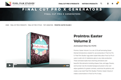 ProIntro Easter Volume 2 was Released by Pixel Film Studios for FCPX