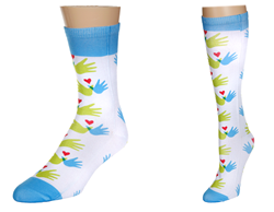Williams Syndrome Awareness Socks