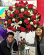 CA Flower Petalers Shower Winners with Best Mom Ever Flower Prizes