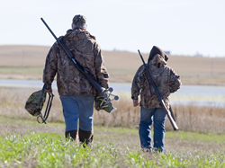 Wild Harvest, Father and son hunting