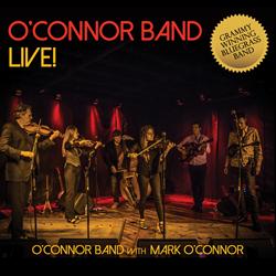 O'Connor Band Live! Album Cover