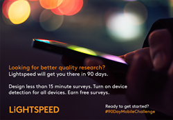 Lightspeed Introduces its 90 Day Mobile Challenge