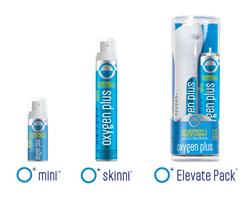 Oxygen Plus's New Product Line Up: O+ Mini, O+ Skinni, O+ Elevate Pack