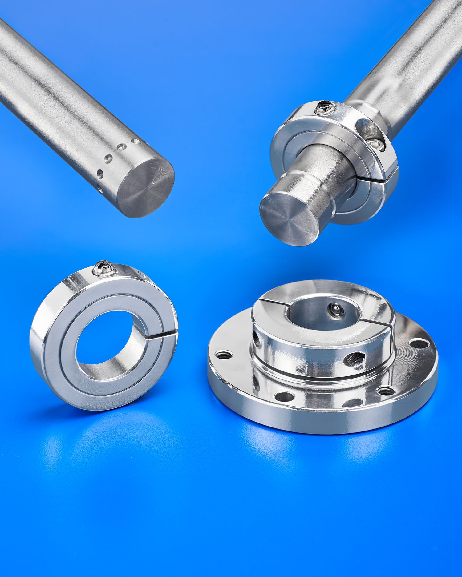 Stafford positioning shaft collars are designed for
