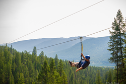 Residents get a big discount on ziplining; EcoSociety gets big support.