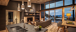 Stellar Residence Kitchen/ Living Area