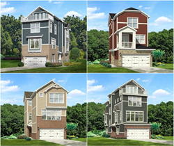 Four New Home Designs Built by Sigma Builders LLC in Carmel, IN