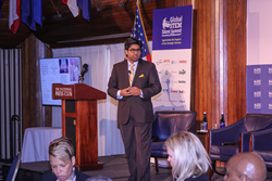Jay Bavisi, President of EC-Council, addresses the Global STEM Talent Summit