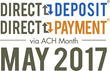 The Month of May is the Perfect Opportunity to Increase Savings and Build Wealth through Direct Deposit and Split Deposit