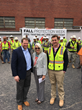 NCDOL Commissioner Cherie Berry Speaks at Fall Protection Week Event Hosted by Gilbane Building Company, Barnhill Contracting Company and Clancy & Theys Construction Comp