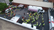 Gilbane holds safety demonstrations for fall protection week in Raleigh, North Carolina.