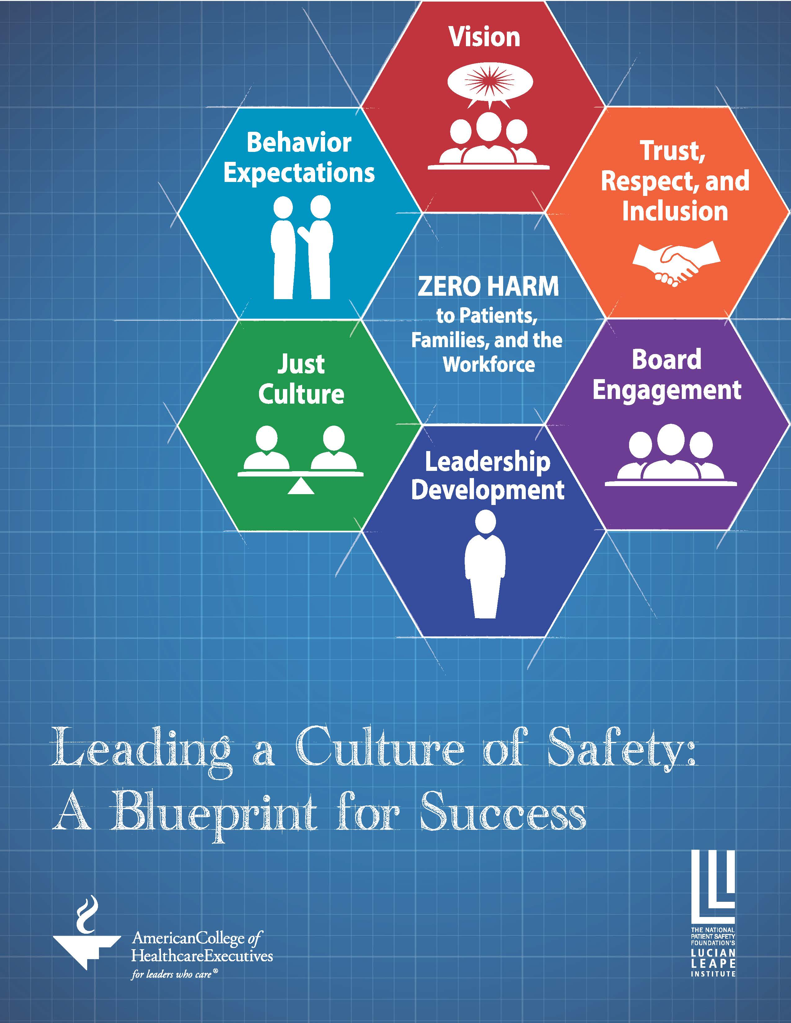 American college of healthcare executives and npsf lucian leape american college of healthcare executives and npsf lucian leape institute release blueprint for creating and sustaining a culture of safety in healthcare malvernweather Choice Image