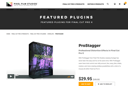 ProStagger - Pixel Film Effects - FCPX Plugins