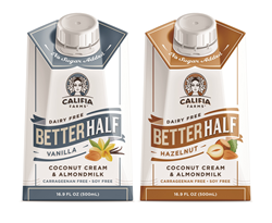 Califia Farms, Better Half, dairy-free half and half