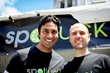 Spotluck Co-founders Cherian Thomas (left) and Brad Sayler (right).