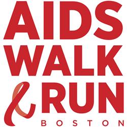 AIDS Walk & Run Boston logo