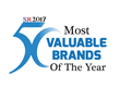 "Asymmetrex Named One of the ""50 Most Valuable Brands of the Year 2017"" by The Silicon Review"