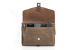 The Outback Solo 2.0 — view under front leather flap