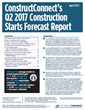 The 22-page full Forecast Quarterly report combines ConstructConnect's proprietary data with macroeconomic factors, Oxford Economic econometric expertise and analysis by Chief Economist Alex Carrick