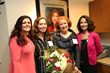 Aimee Keller, AVP Ancillary Services, Vivian Valdes, Breast Care Center Clinic Manager, Kay Meyer and Jan Berry, Executive Director Development Officer, Florida Hospital Tampa Foundation