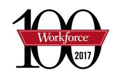 The Workforce 100 list included Facebook, Coca-Cola, Grant Thornton and more.