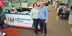 Lyn and Charlie Church own the new Minuteman Press design, marketing, and printing franchise at 359 N. Easton Road in Glenside, PA. Learn more about Minuteman Press franchise opportunities at http://www.minutemanpressfranchise.com