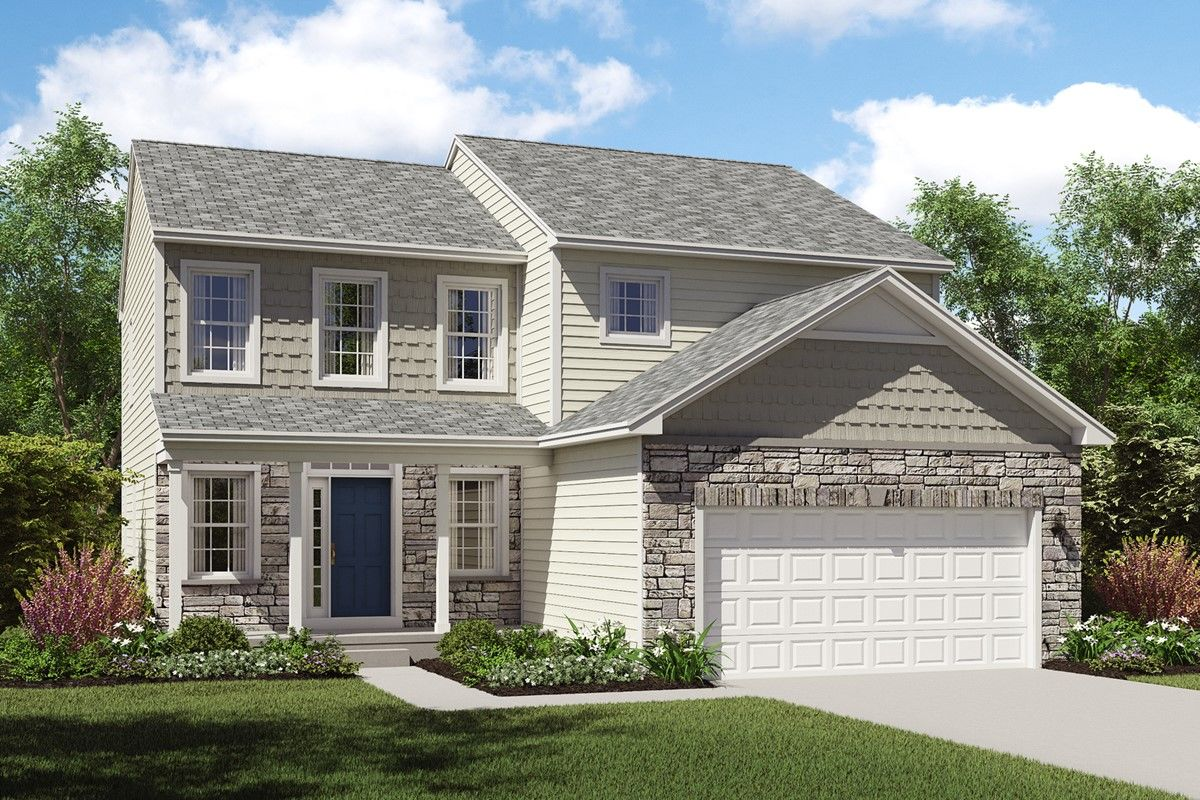 K hovnanian homes unveils three new home designs at single family home community in strongsville - Single family home designs ...