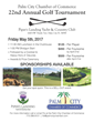 Venture Construction Group of Florida sponsors the Palm City Chamber of Commerce 22nd Annual Golf Tournament