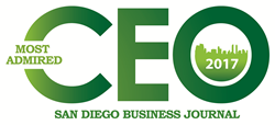 Most Admired CEO 2017 - San Diego Business Journal
